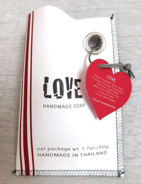 LOVE Geschenk-Tütchen mit Seife (vegan) - Fairtrade