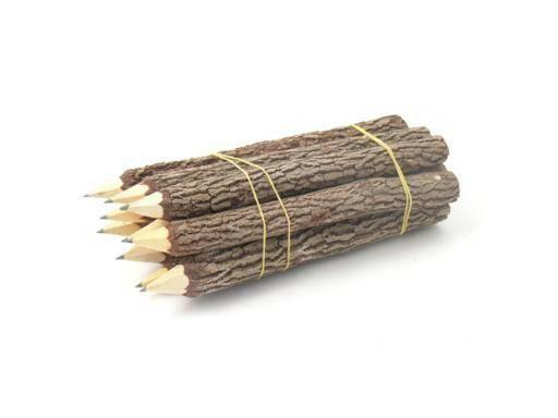 Bleistift aus Holz/Ästen (groß) - Fair Trade