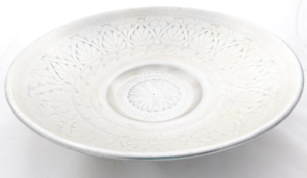 Aluminium-Schüssel/-Schale (Ø 43 cm) mit Muster (L) - Fair Trade