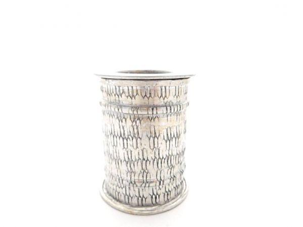Kerzenständer aus Aluminium Muster - Fair Trade