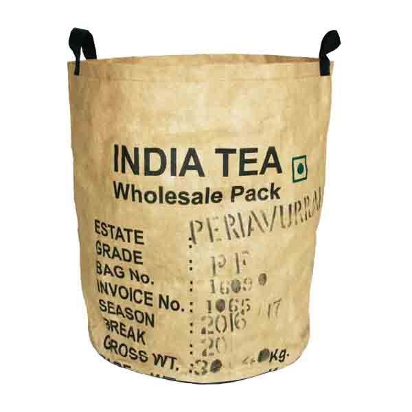 Tea-Basket - Korb L - upcycling - Fairtrade