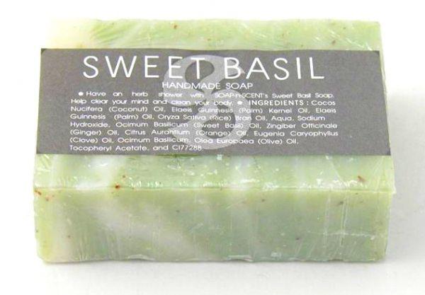 Seife Sweet Basilikum - Fairtrade