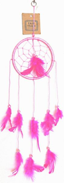 Traumfänger pink - Fair Trade