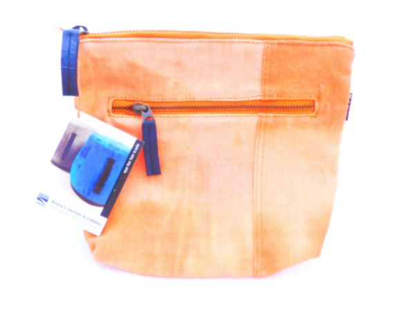 Beutel Orange - Upcycling - Fairtrade