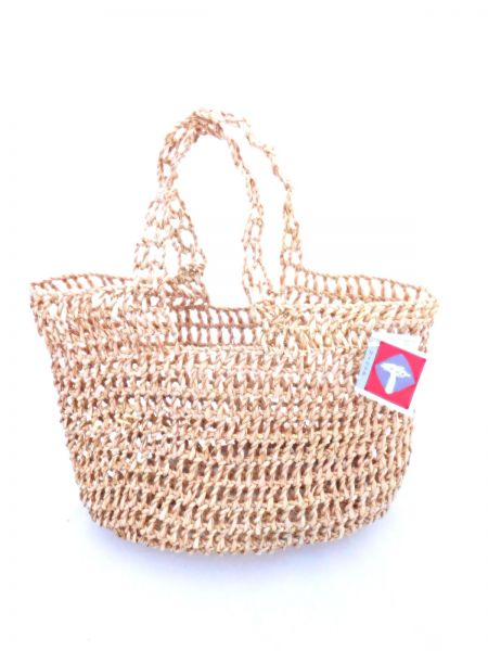 "Handtasche ""chic"" aus Palmblatt - Fair Trade"
