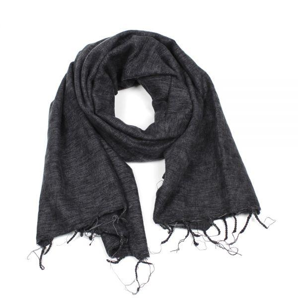 Melange-Schal anthrazit - Fair Trade