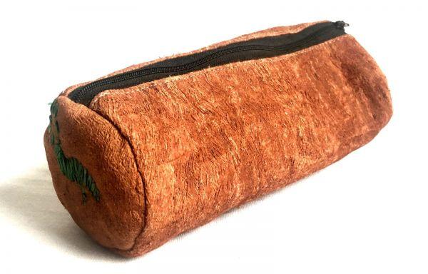 Federmäppchen Schlampermäppchen Zylinder aus Baumrinde - Fairtrade