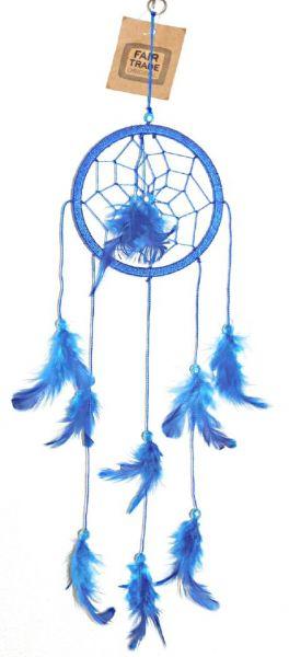 Traumfänger blau - Fair Trade