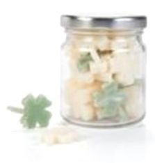 Seife Glück im Glas - Gäste-Seife mit Basilikum und Ziegenmilch - Fairtrade