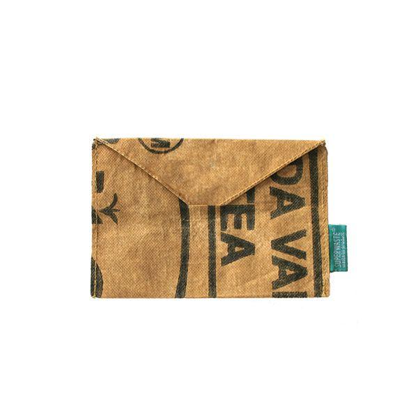 Briefumschlag C6 - wiederverwendbar - upcycling - fairtrade