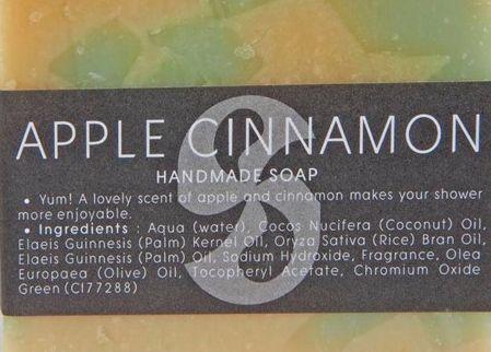 Gäste-Seife Apfel Zimt- Fairtrade