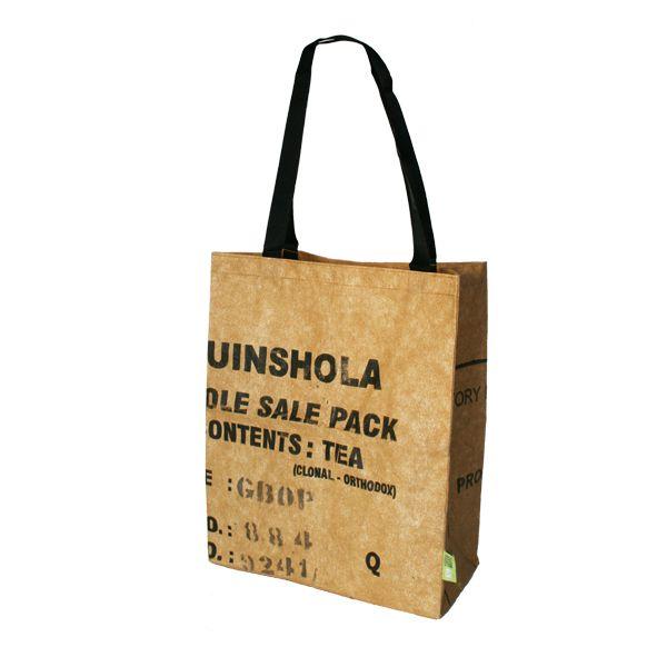 Tea-Bag - Shoulder bag / Schulter-Tasche - upcycling - Fairtrade