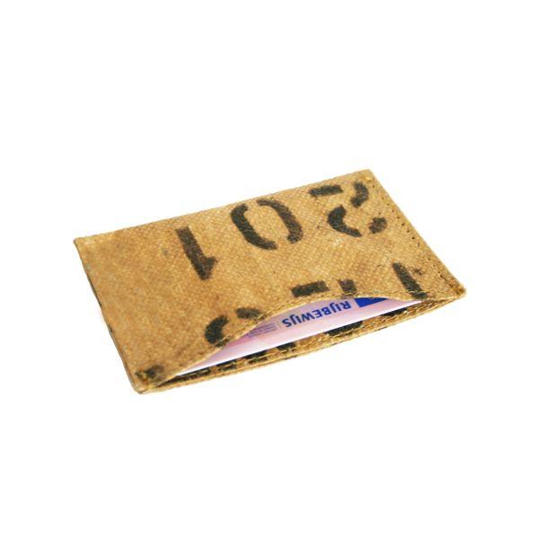 Visitenkarten- oder Kreditkarten-Halter - upcycling - Fairtrade